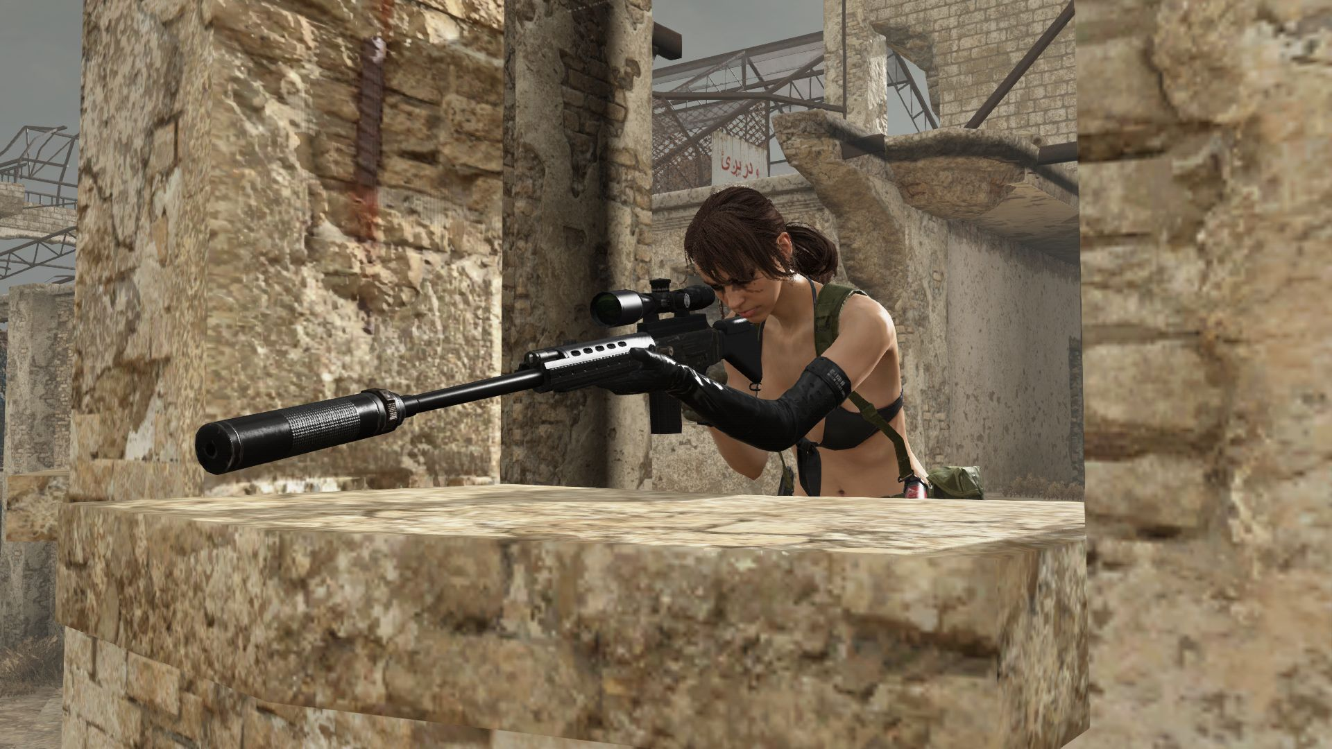 Metal Gear Online Quiet (2)