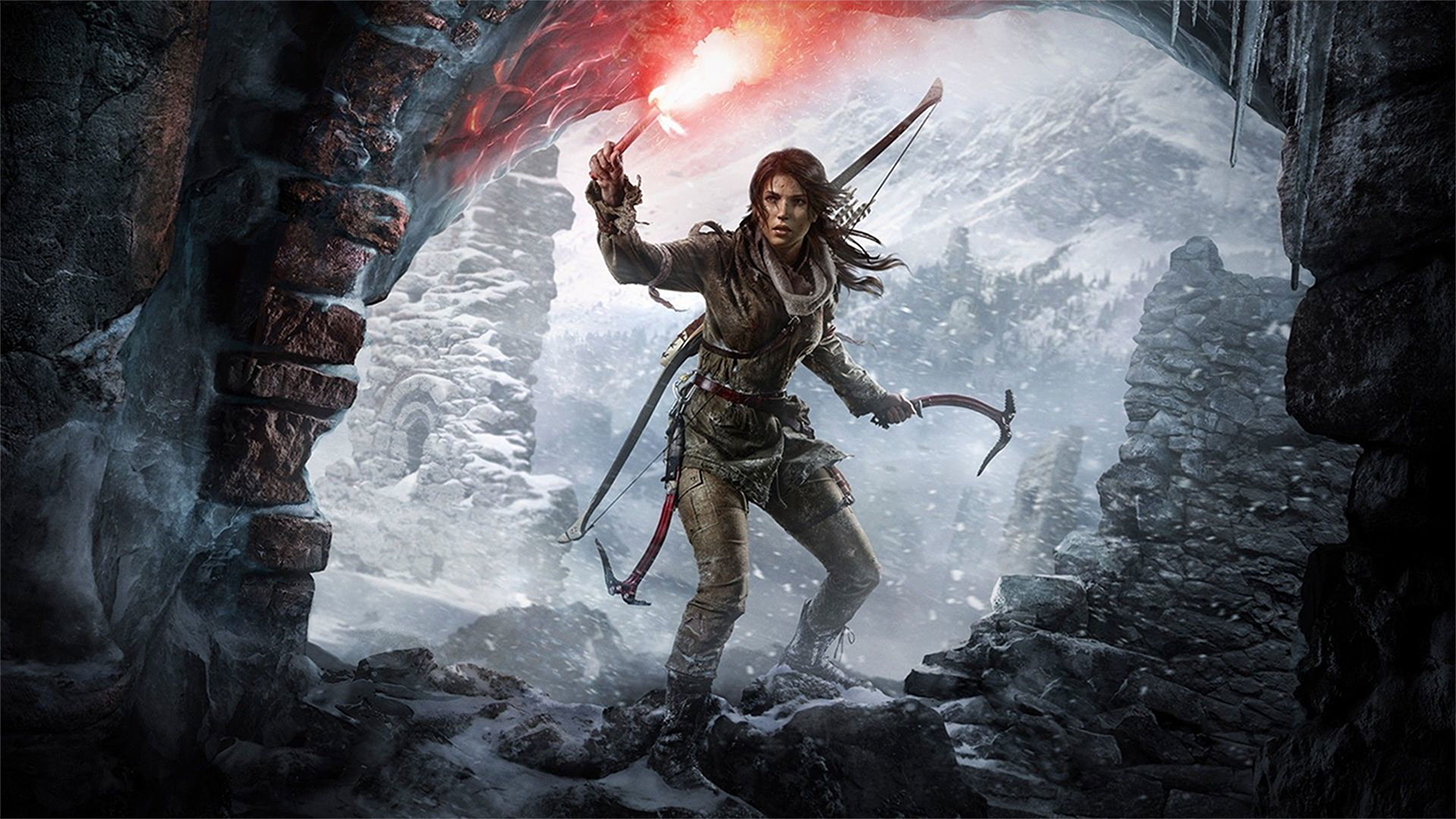 Rise of the tomb raider wallpapers in ultra hd 4k - Rise of the tomb raider 4k wallpaper ...
