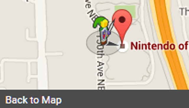 For a limited time link from the legends of zelda is on google maps gumiabroncs Choice Image