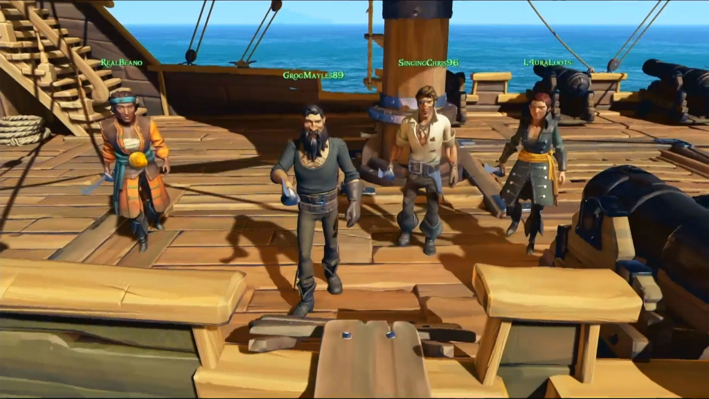 New video with gameplay Sea of Thieves