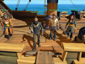 Sea of Thieves 8 Minute Gameplay Trailer Released