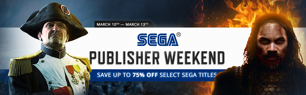 Sega Steam Publisher Weekend 2016