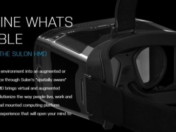 "AMD Jumps Into The VR Game With ""Spatially Aware"" Solon Q"