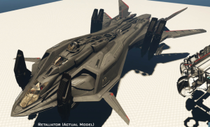 Star Citizen Retaliator multicrew