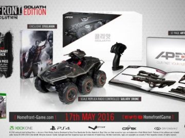 Homefront: The Revolution's Collector's Edition Comes With An RC Car