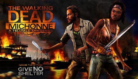 The Walking Dead Michonne Give No Shelter