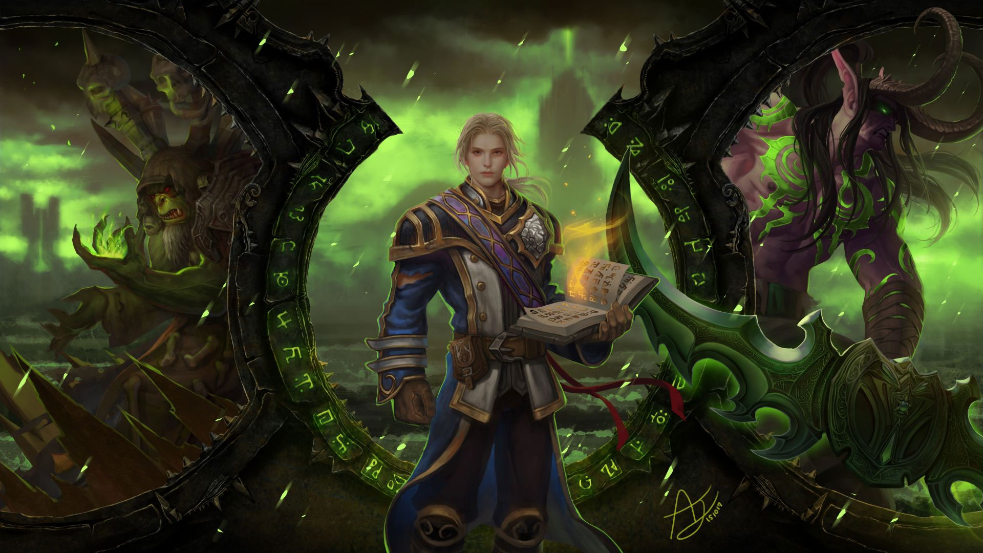 World Of Warcraft Legion Wallpapers In Ultra Hd 4k Gameranx