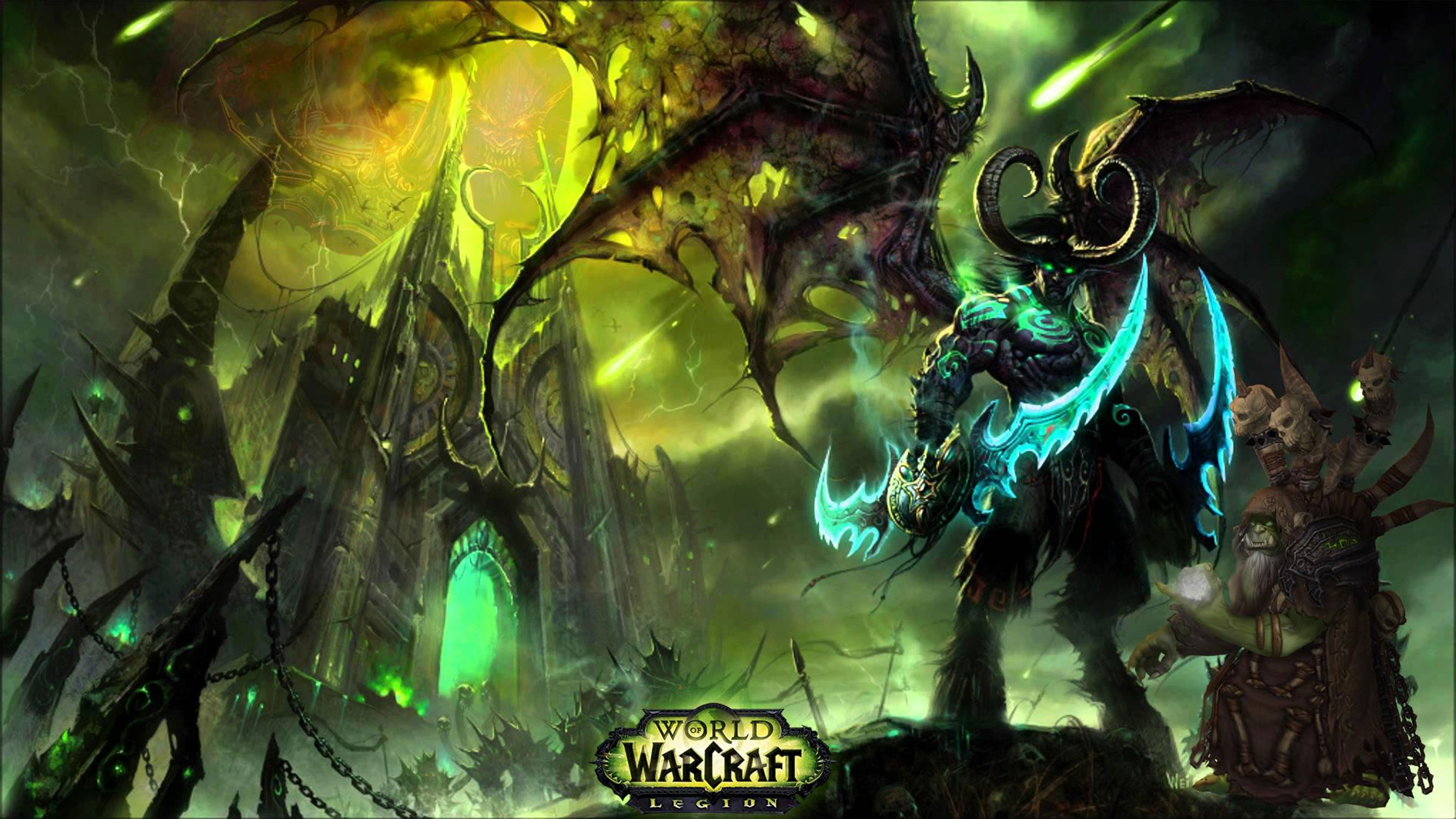 World of Warcraft Legion Wallpapers in Ultra HD
