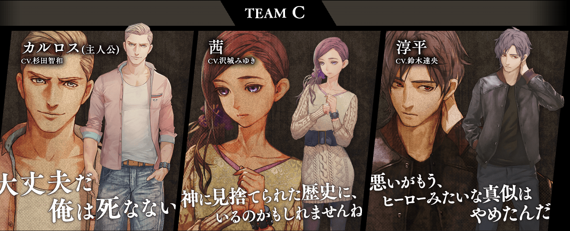 Zero Time Dilemma Team C