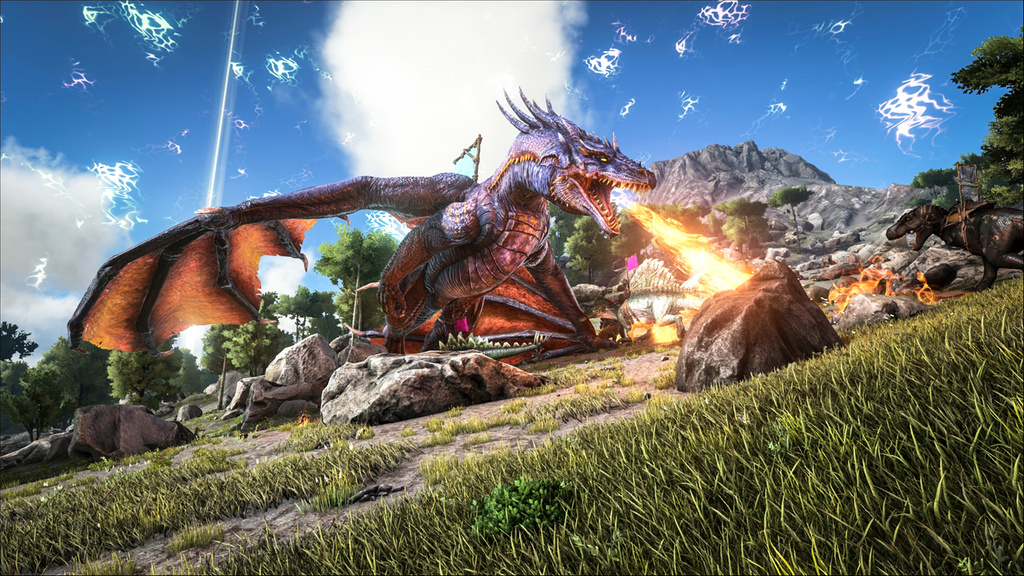 Ark survival evolved dev decides to merge main game with for Plante x ark