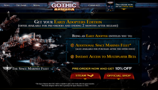 Get An Overview On Battlefleet Gothic: Armada With Beta Launch Trailer
