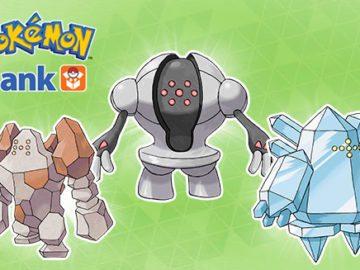 Get Legendary Pokémon Regirock, Regice, And Registeel Now Via Pokémon Bank