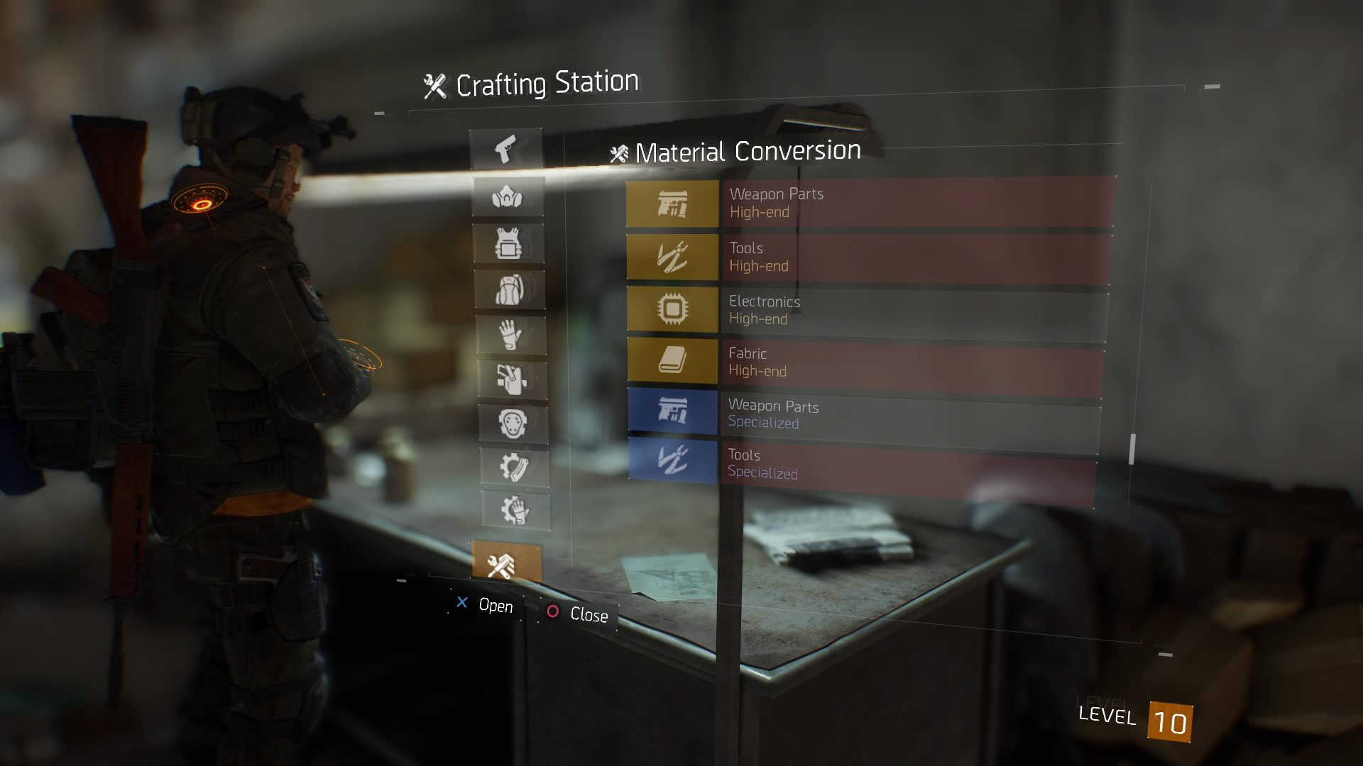the division crafting guide
