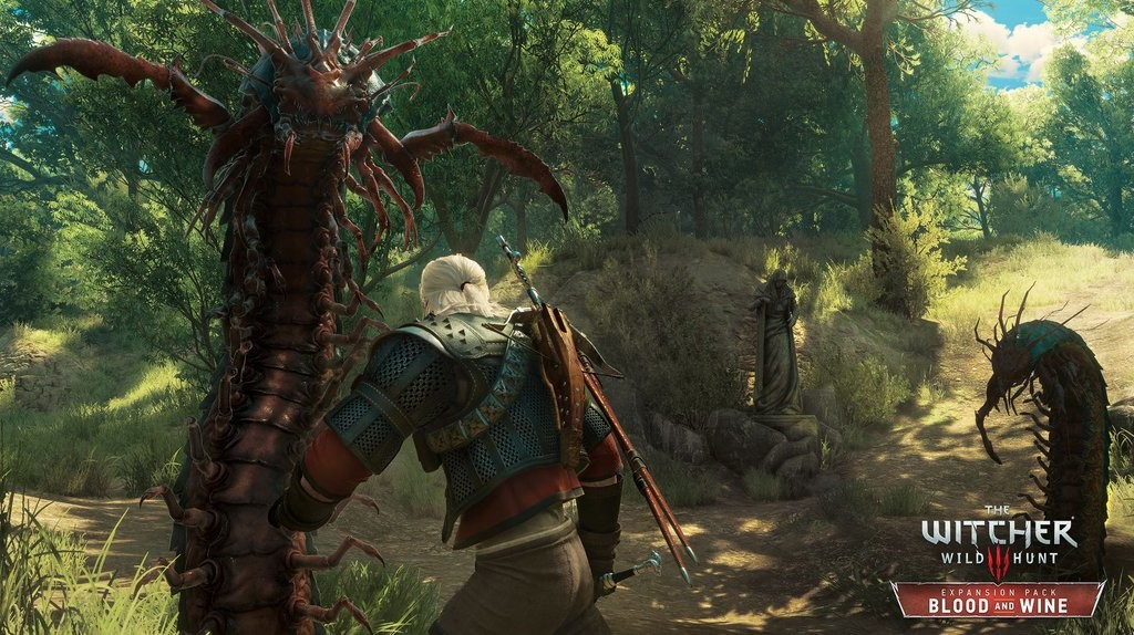 The Witcher 3: Blood and Wine Download Size Revealed