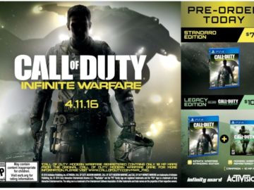More Details Leak for Call of Duty: Infinite Warfare