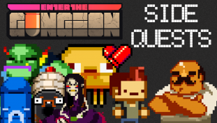 Enter the Gungeon Side Quests and Challenges Guide