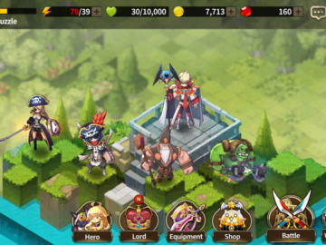 Nexon Updates Medal Masters, Legion Of Heroes, And Fantasy War Tactics