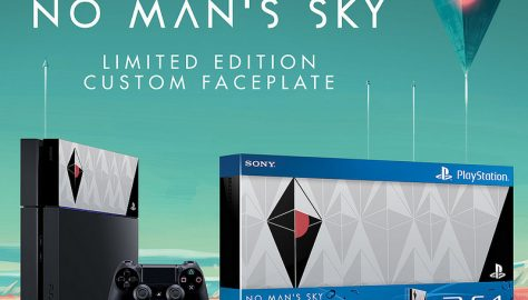 PS4 No Man's Sky Faceplate