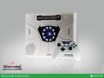 Stark Industries' Iron Man Themed Xbox One Consoles Are Stunning