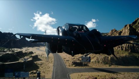 flying car ffxv