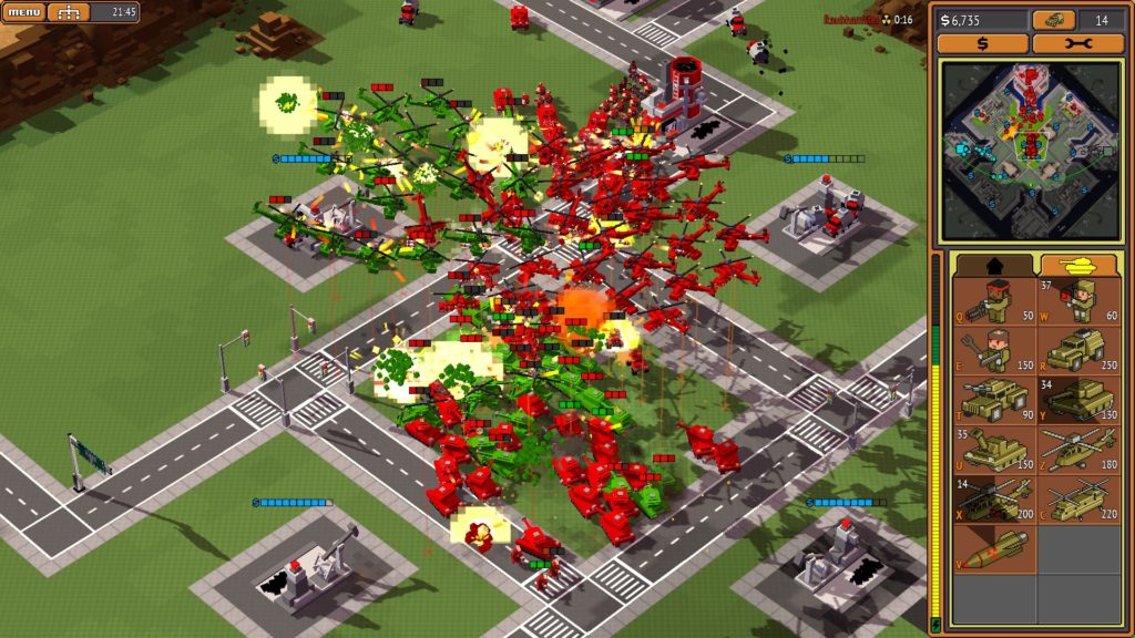 how to create an rts game
