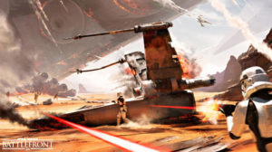 EA Discusses Lack Of Battlefront Single-Player