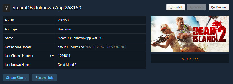 Dead Island Removed From Steam