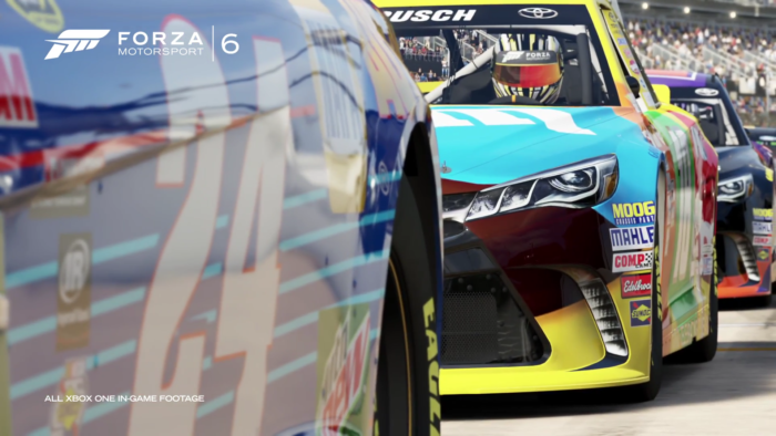 Forza 6 NASCAR expansion adds 24 cars from the 2016 season