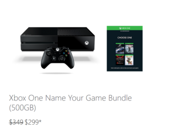 Microsoft Discounts Xbox One Consoles By $50