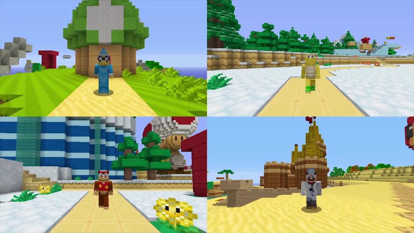 how to get a cape in minecraft wii u