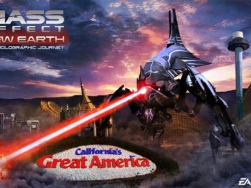 Mass Effect 4D Theme Park Ride Opens Today