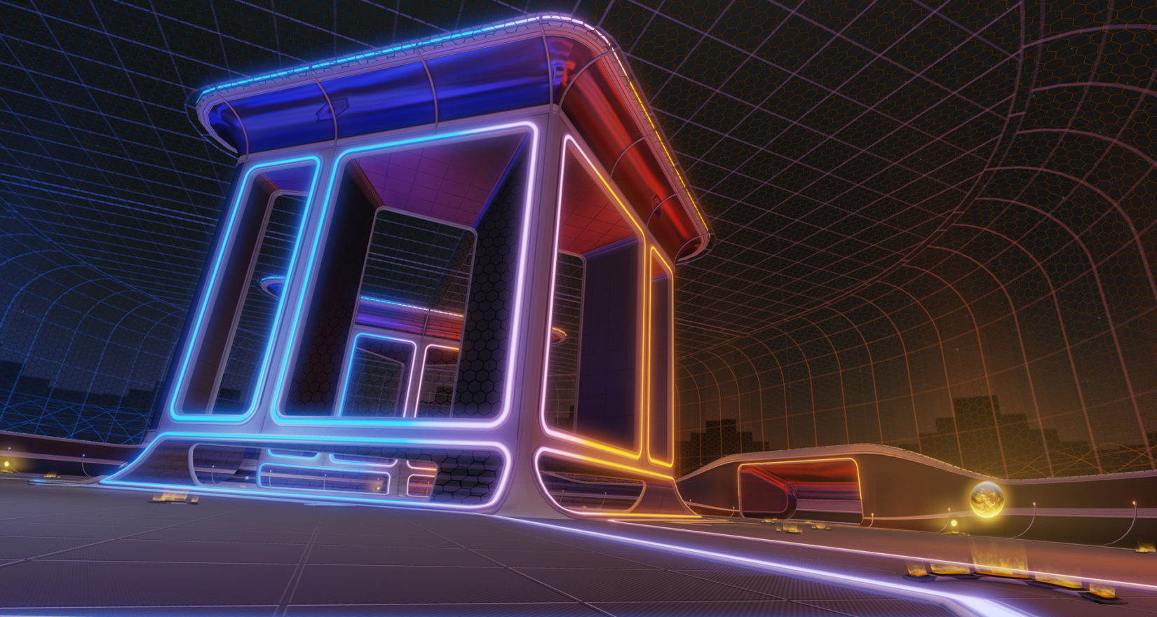 "Rocket League Gets New ""Pillars"" Arena Added To Rocket Labs Playlist"