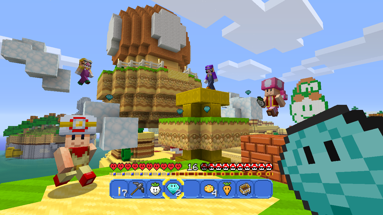 Super Mario Themed Update Coming To Minecraft Wii U Edition Next