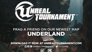 "Unreal Tournament Gets New Map, ""Underland"""