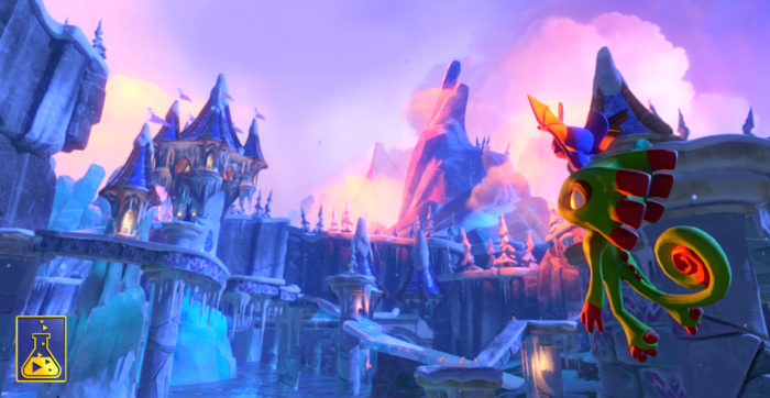 Yooka-Laylee update reveals screens, story, and Dr. Quack