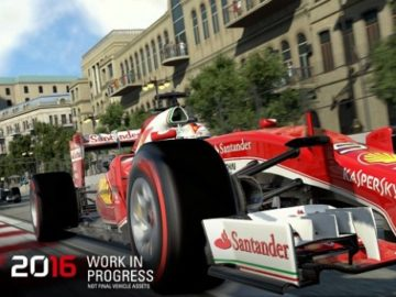 "F1 2016 Announced; Set To Feature ""The Most Immersive Career Mode Ever"""