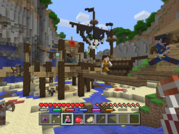 Minecraft Console Editions Receiving Free Minigames