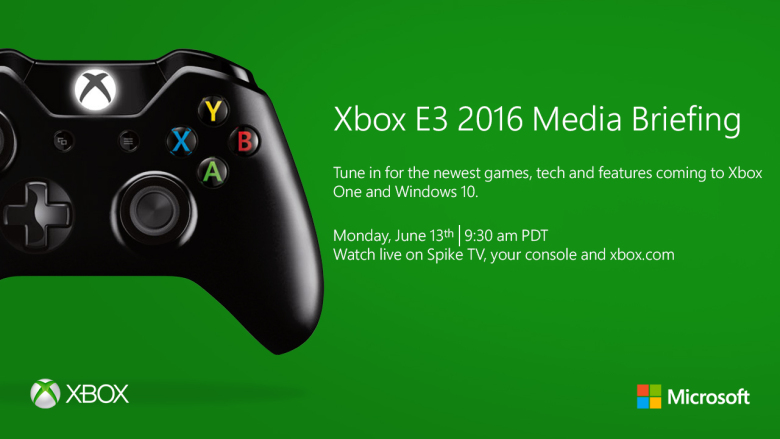 Microsoft's Plans With XBOX At The E3 2016 - Schedule Revealed