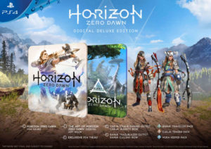 Horizon Zero Dawn Deluxe Edition Unveiled
