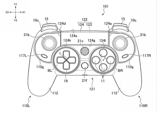 Playstation 4 Controller Diagram