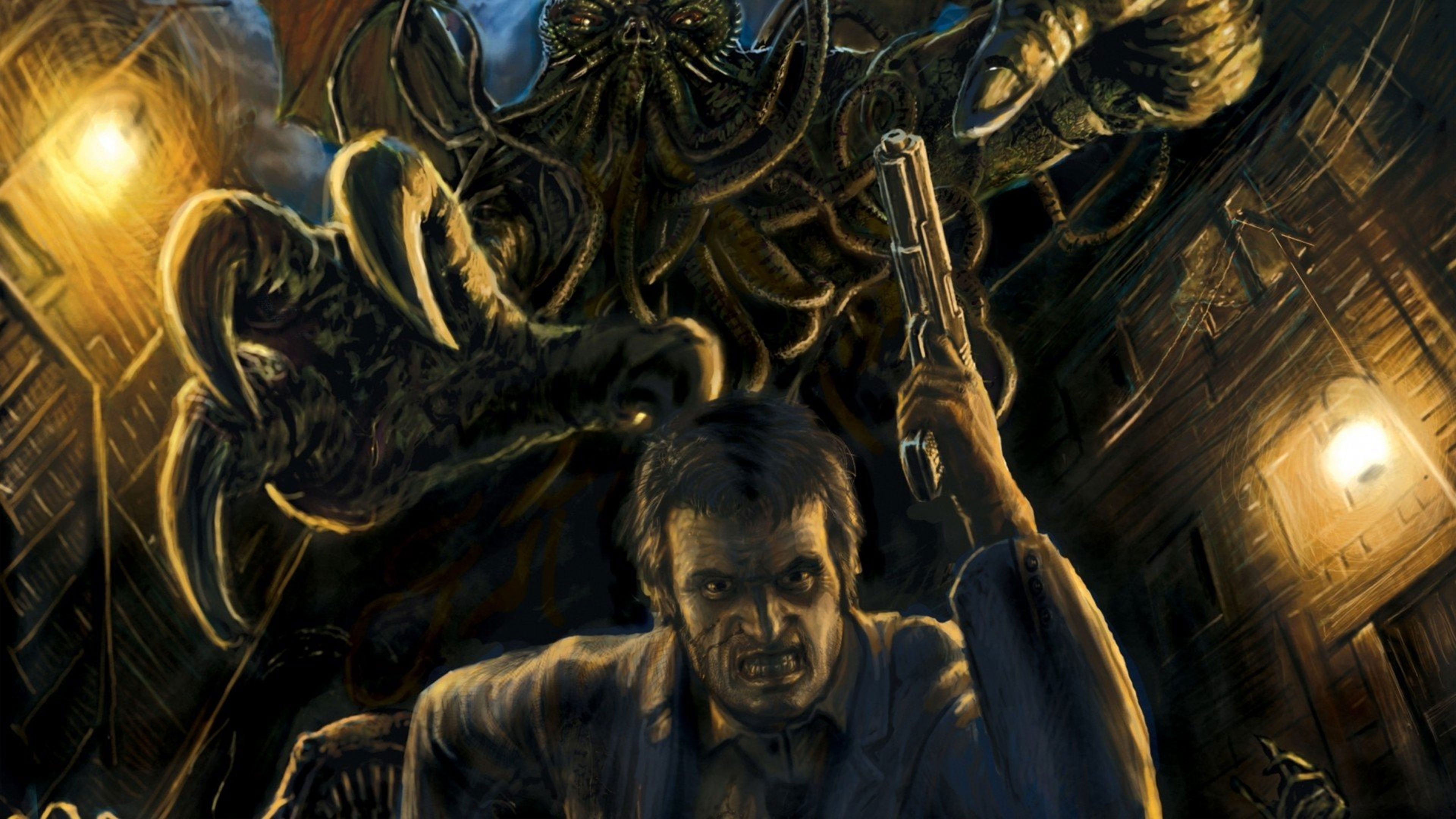 call of cthulhu wallpapers in ultra hd 4k