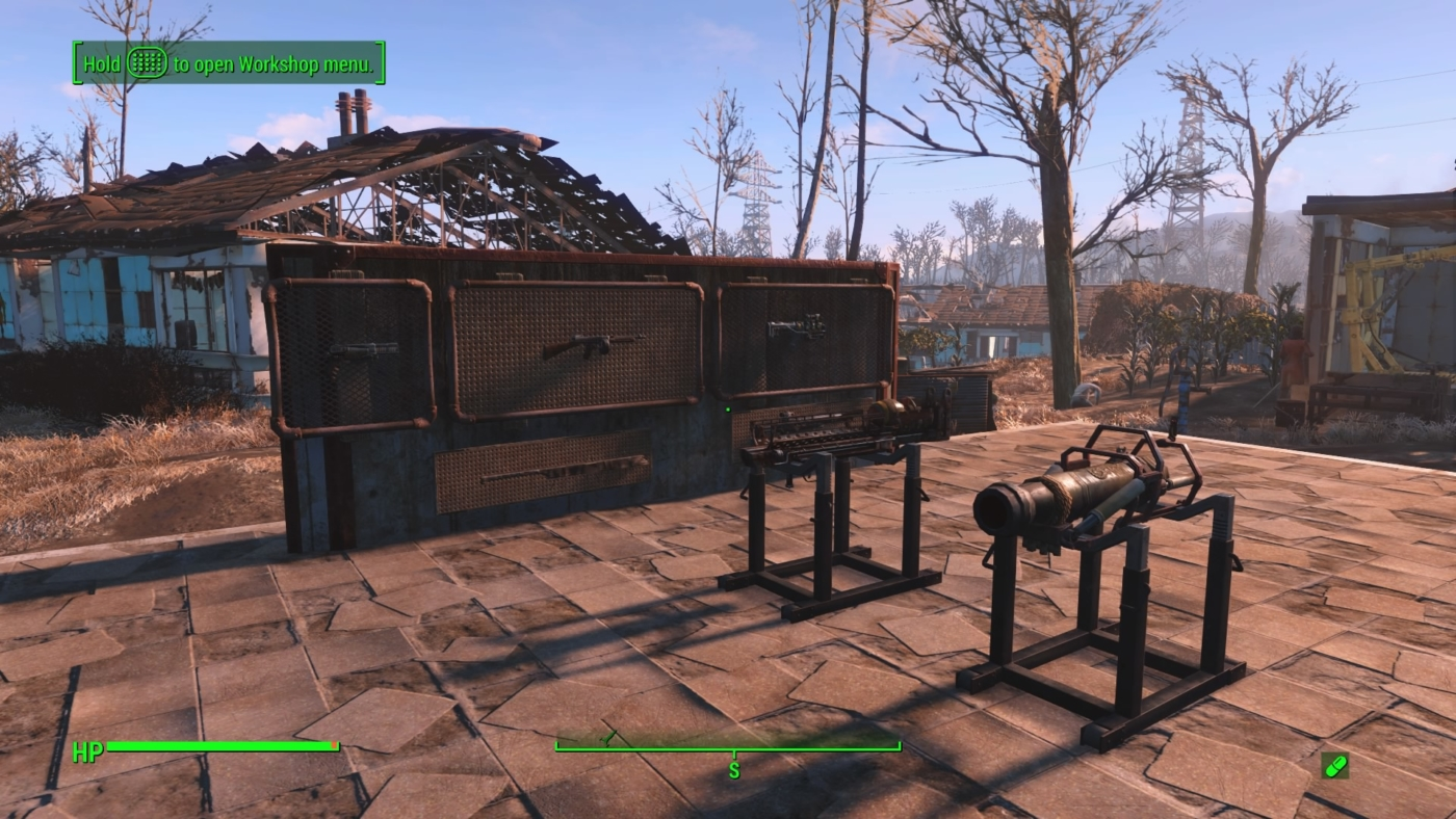 Trade Stands Fallout 4 : Fallout contraptions how to display armor weapons