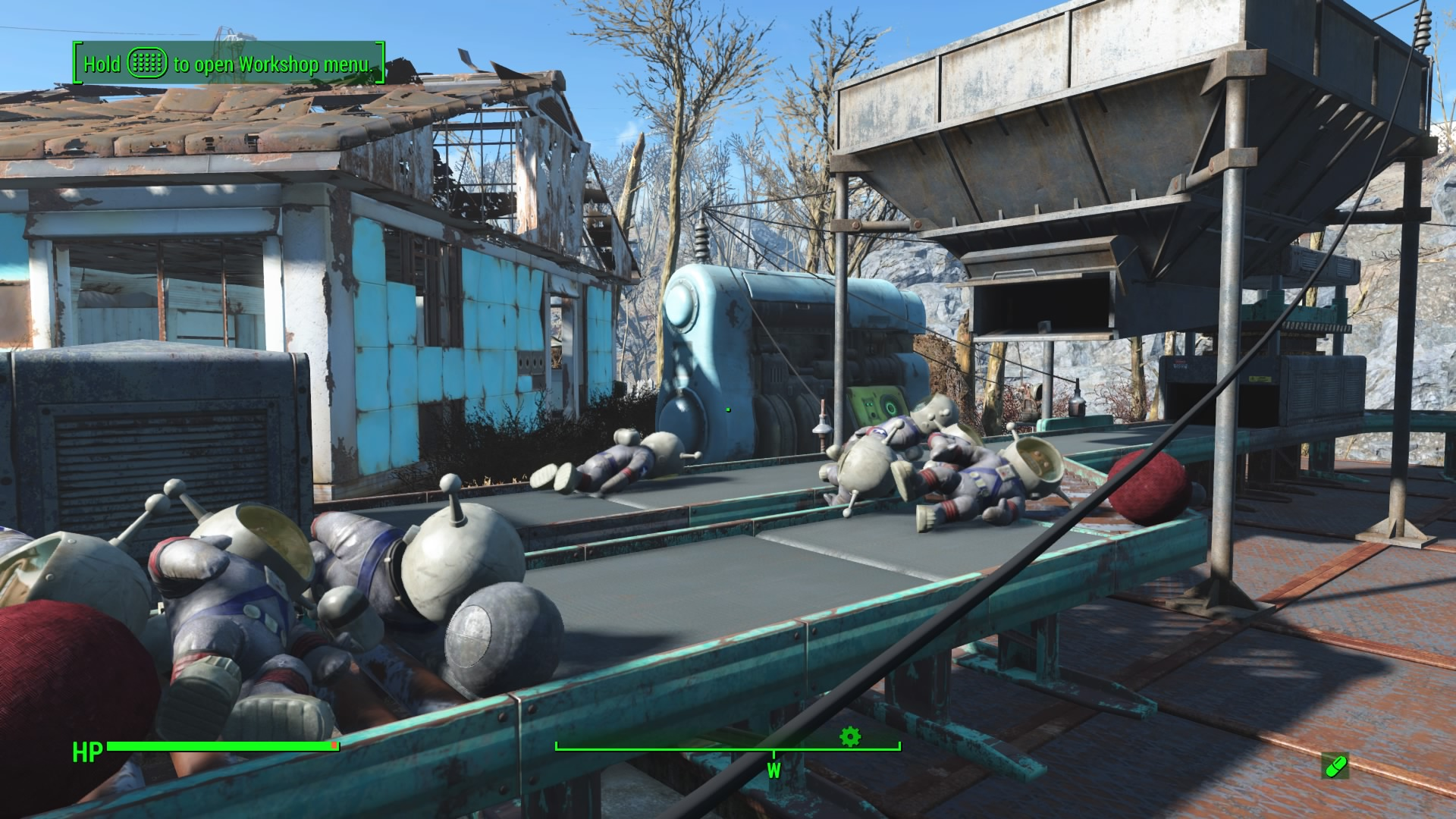 Fallout 4: Contraptions - How to Use Builders & Make 100 Items