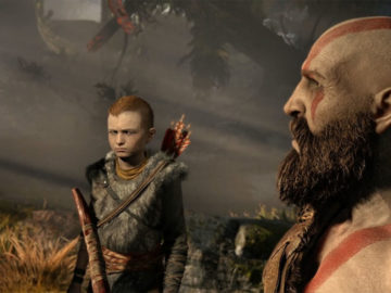 Giant God of War Poster Finally Finishes, Showcases Kratos and His Son; Check it Out Here