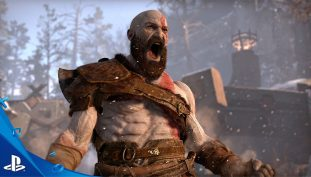 PlayStation Gears Up for God of War Announcements at E3 2017; Plasters Giant Poster in LA
