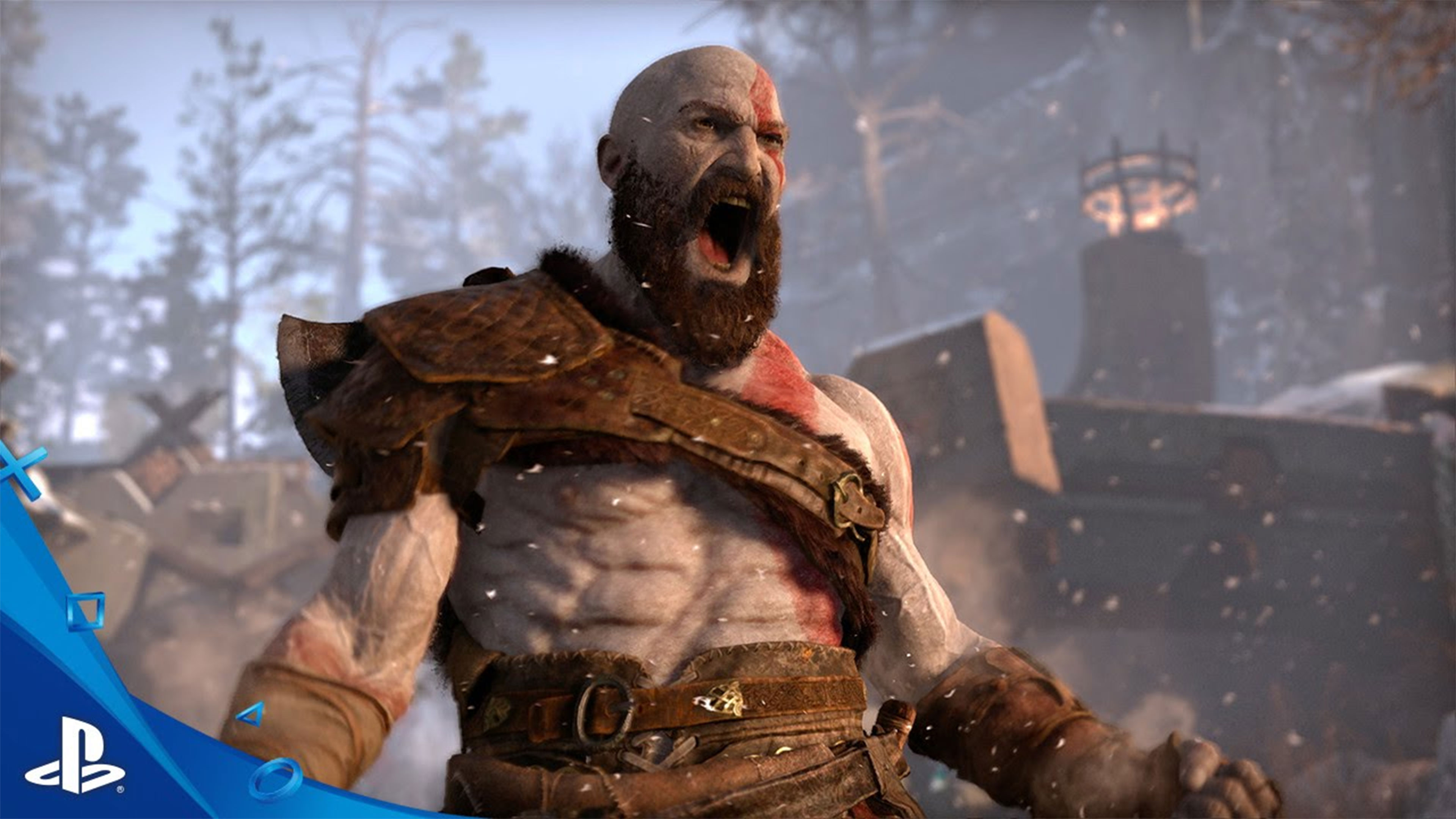 God Of War PS4 4K Wallpaper