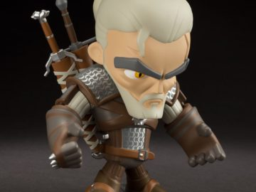 Check Out This The Witcher 3 Geralt Figure from J!NX