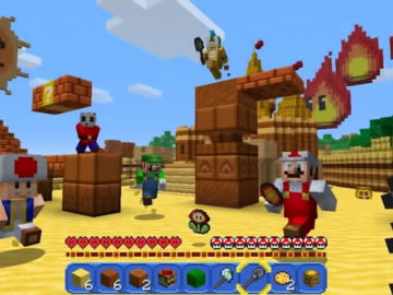 Minecraft for Wii U Hits Retail Stores
