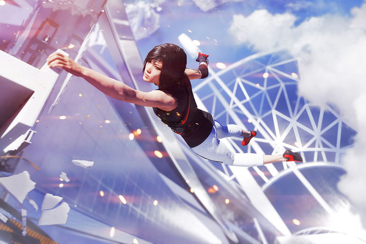 game reviews: Mirrors Edge Slow Motion PhysX Fix