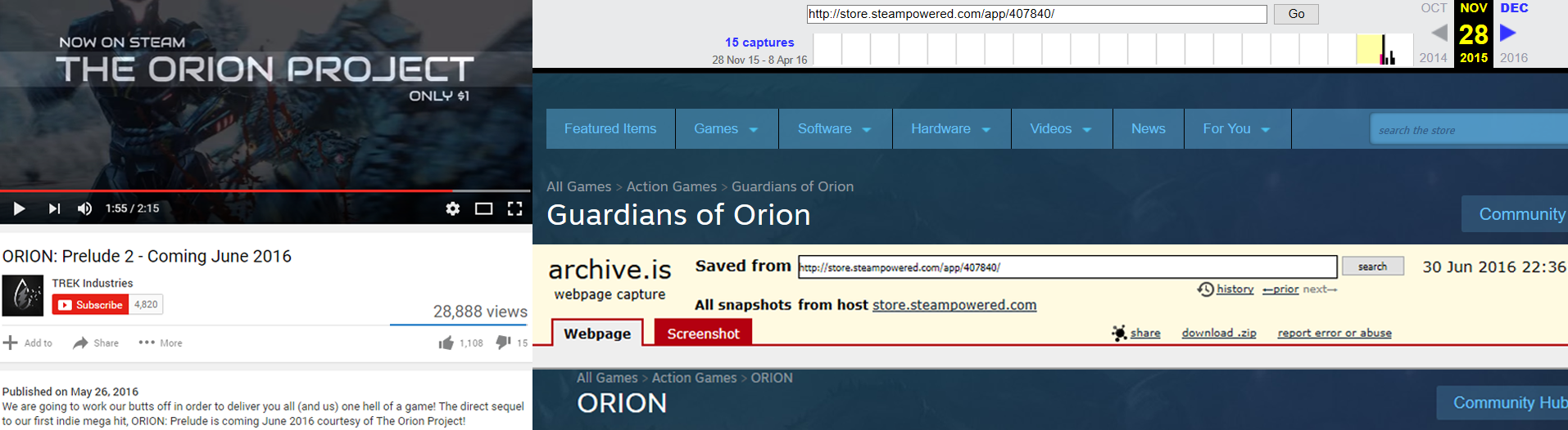 OrionNames